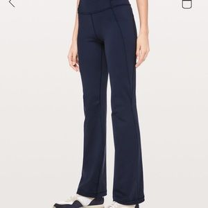 NEW Lululemon Navy Groove Pant- Bootcut